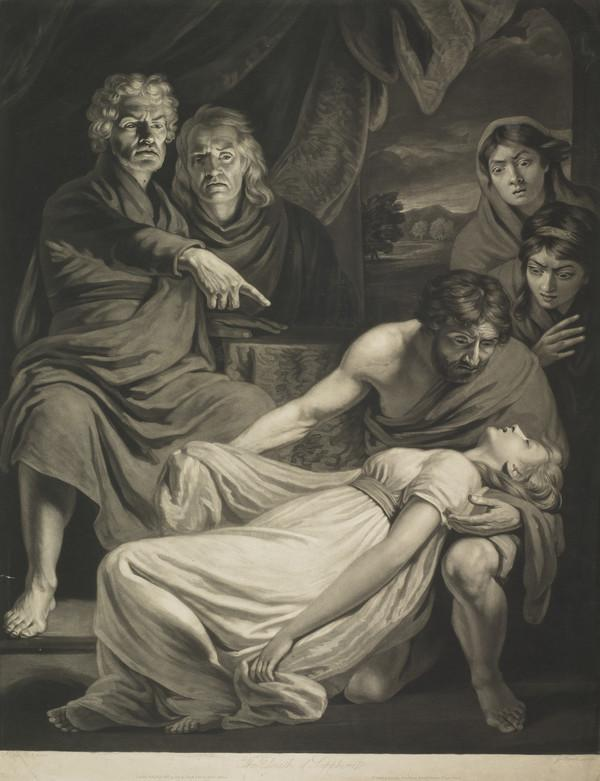 The Death of Sapphira (1802)