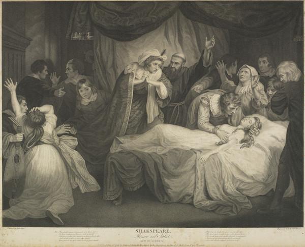 Shakespeare: Romeo and Juliet. Act IV Scene V (1791)