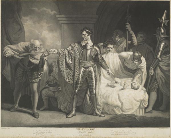 Shakespeare: A Winter's Tale. Act II Scene III (1793)