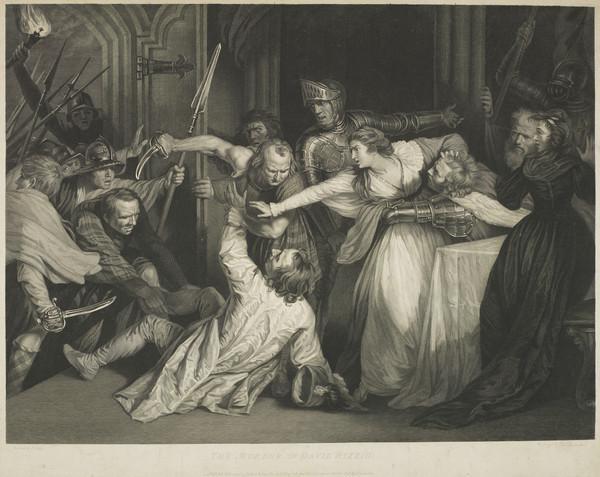 The Murder of David Rizzio (1792)