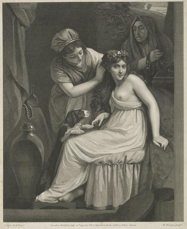 Young Woman having her Hair Dressed by her Servant (1794)