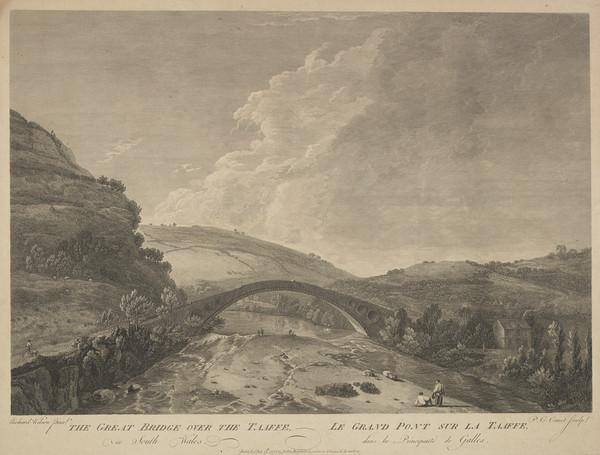 The Great Bridge over the Taaffe in South Wales (1775)