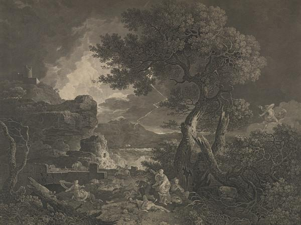 Niobe (one of two impressions) (1761)