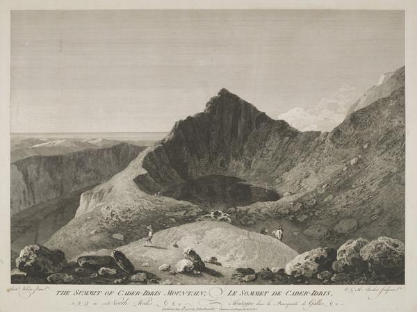 The Summit of Cader-Idris Mountain (1775)