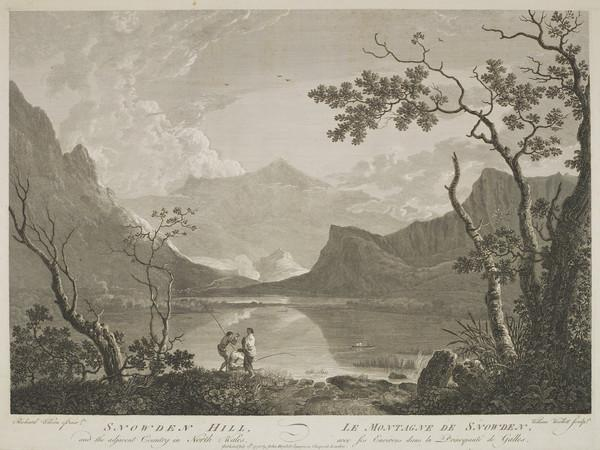 Snowden Hill and the Adjacent Country in North Wales (1775)