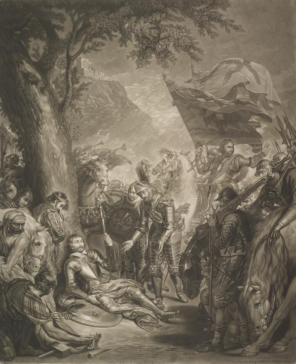 The Death of Chevalier Bayard (1774)