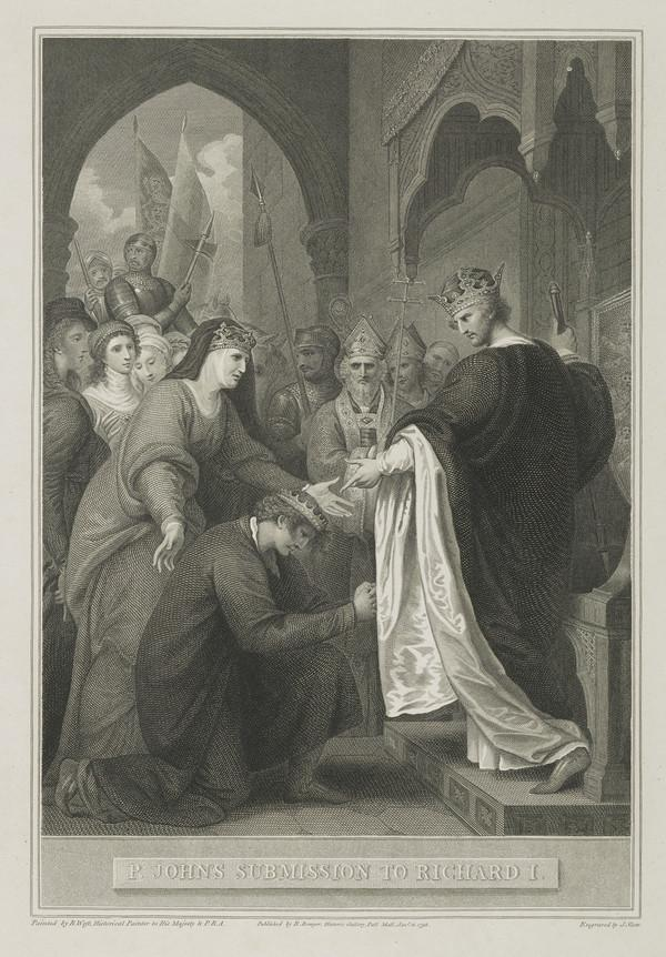 John's Submission to Richard I (1795)
