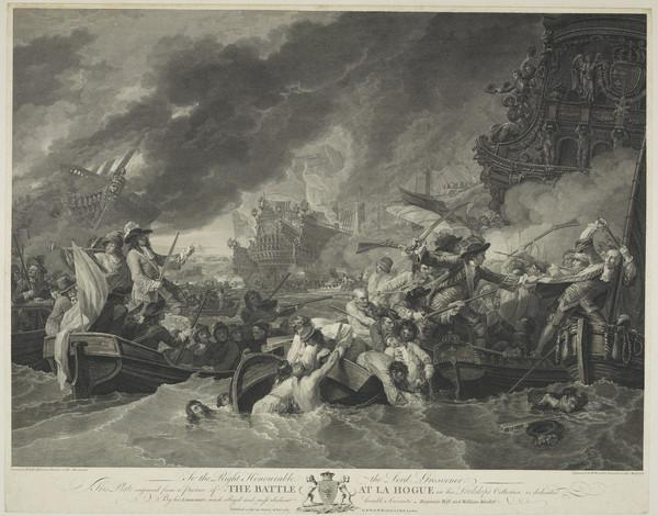 The Battle at La Hogue (1781)
