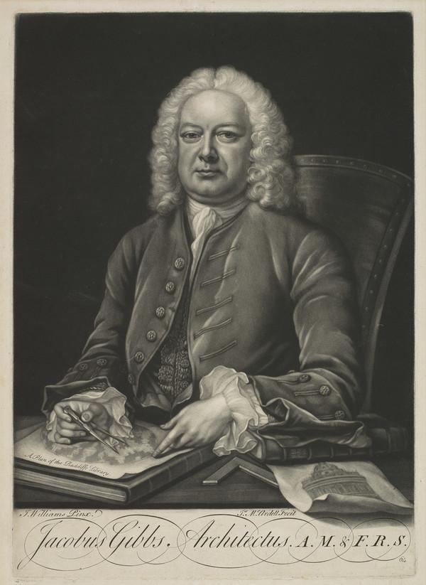 Jacobus Gibbs, Architectus