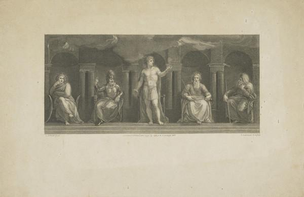 Roman Emperor with Four Seated Figures (1792)