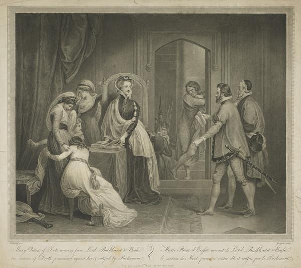 Mary, Queen of Scots, Receiving the Sentence of Death (1794)