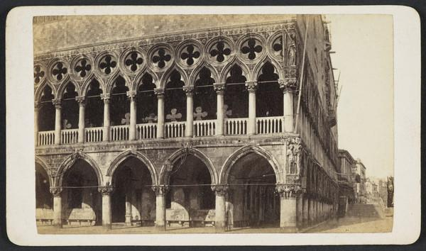 Palazzo Ducale verso la Piazzetta [Ducal Palace and Piazzetta, Venice]