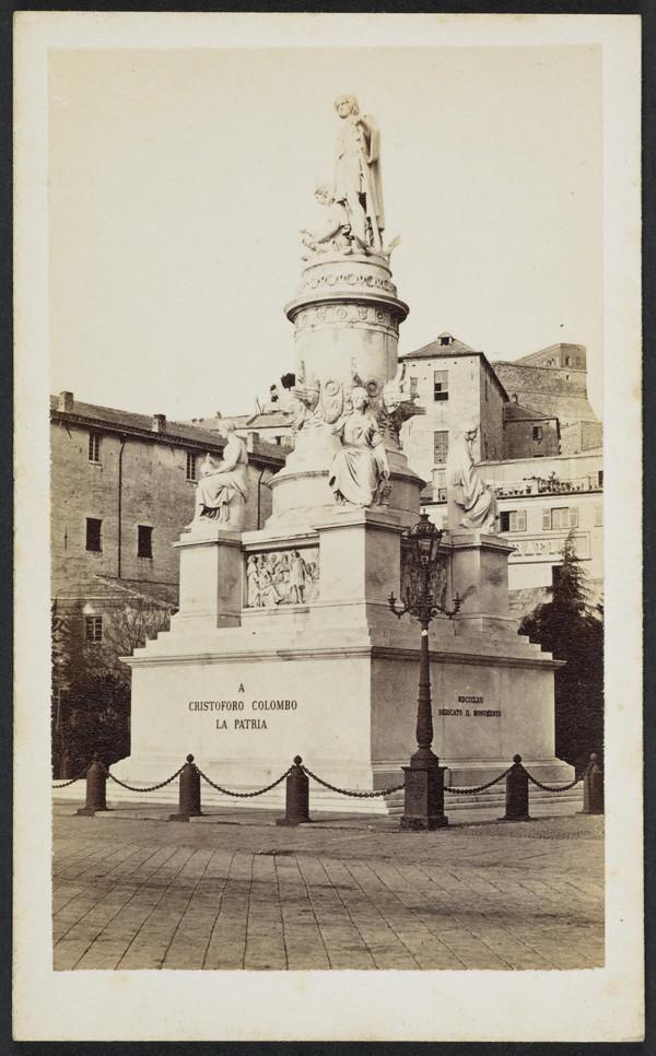 Statua di Cristoforo Colombo, Genova [Columbus statue, Genoa]