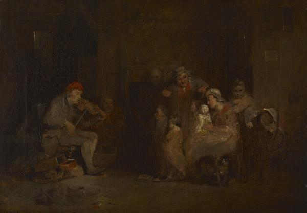 The Blind Fiddler (Dated 1806)