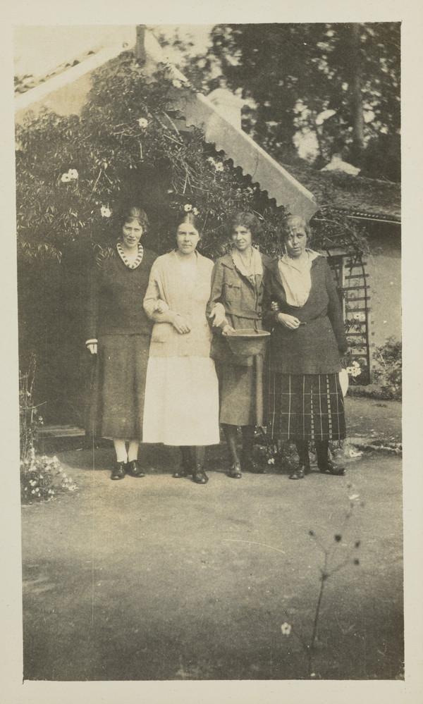 Isabella McNair and Three Women (1960s)