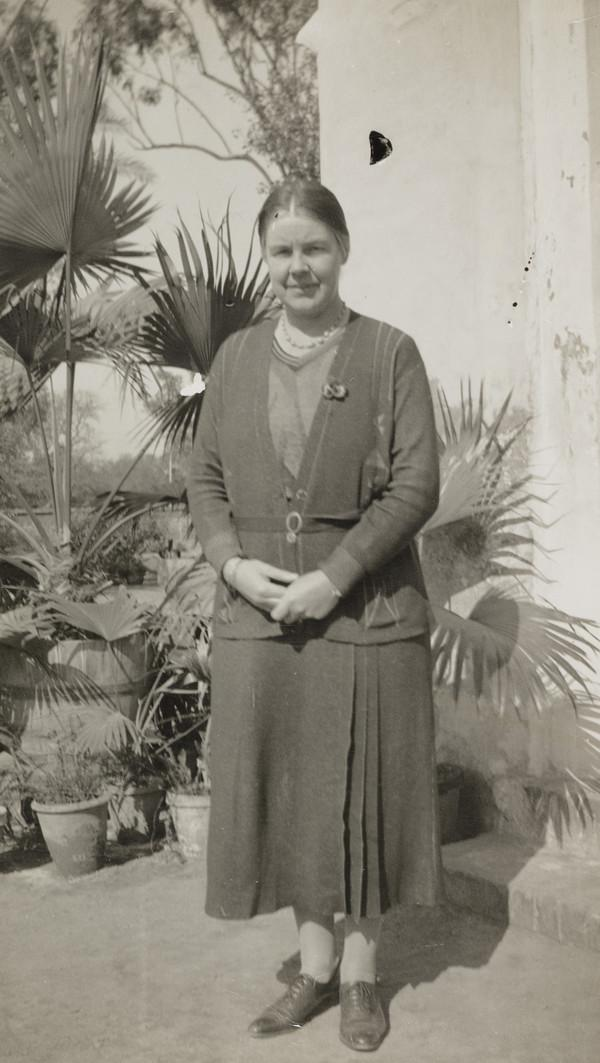 Isabella T. McNair, 1887-1985. Teacher in India (1940s)