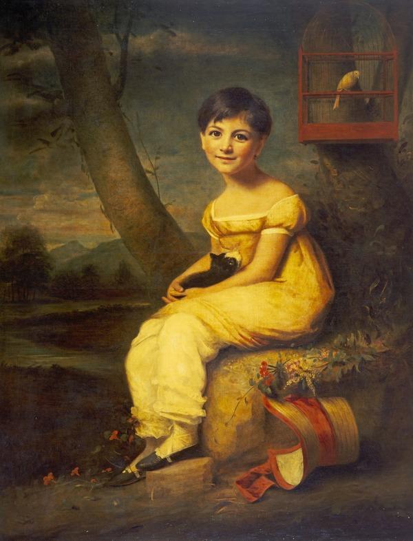 Zoe de Bellecourt (About 1825)