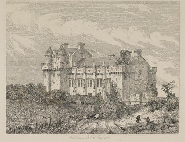 Falkland Palace, Fifeshire (Published 1831)