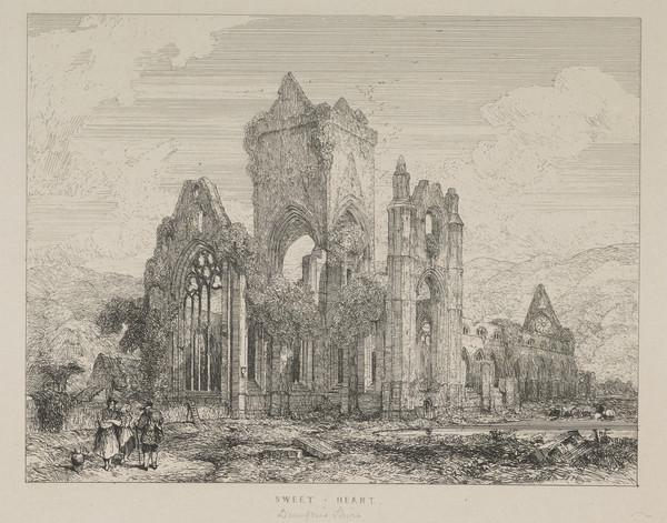 Sweetheart Abbey, Dumfriesshire (Published 1831)