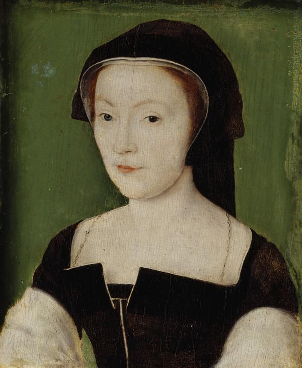 Mary of Guise, 1515 - 1560. Queen of James V (About 1537)