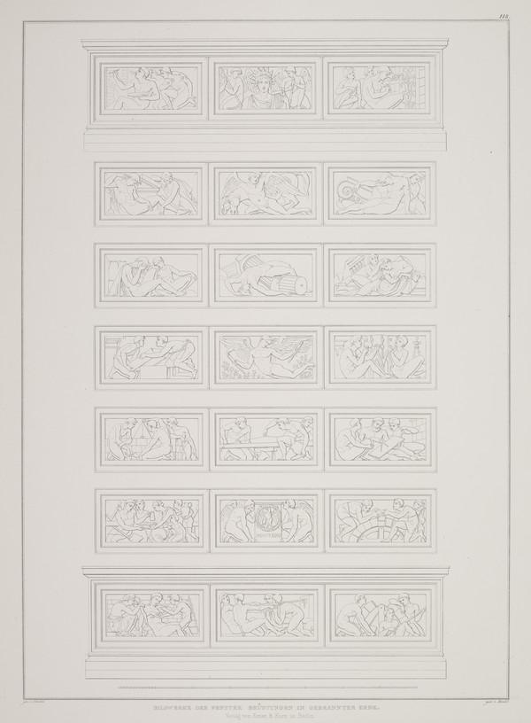 Details (Plate 118 of  'Bauakademie' from Sammlung Architektonischer Entwürfe (1831-1836)