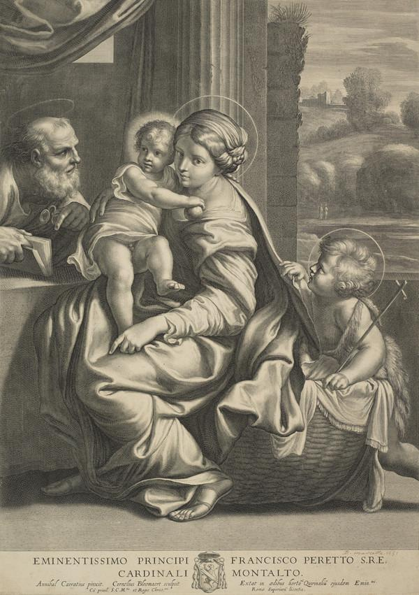 Holy Family with the infant St John (The Montalto Madonna)