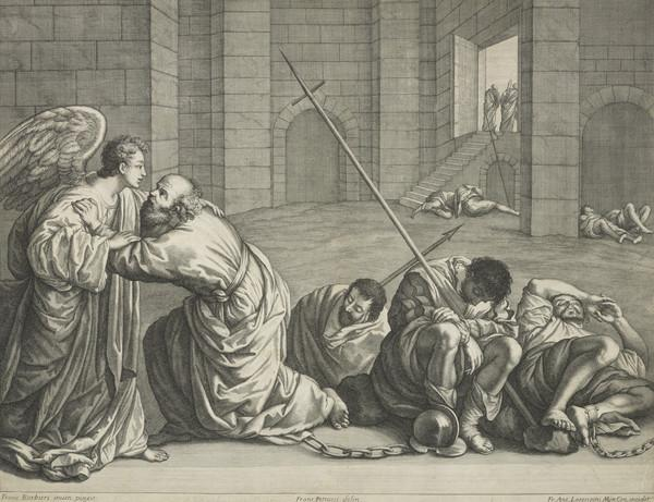 Release of St Peter from prison