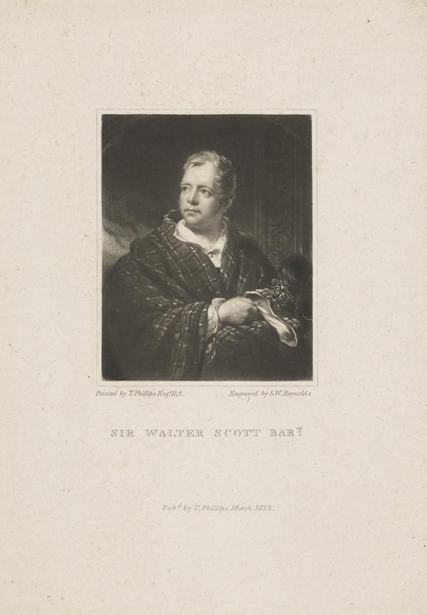 Sir Walter Scott, 1771 - 1832. Novelist and poet (Published 1822)