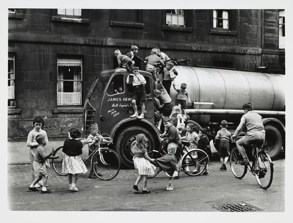 Children Playing on a Lorry