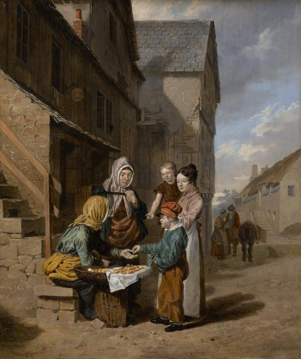 The Fruit Seller (Dated 1824)
