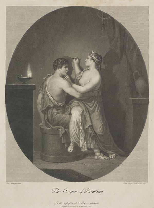 The Origin of Painting (Published 1776)