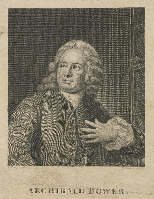Archibald Bower, 1686 - 1766. HIstorian