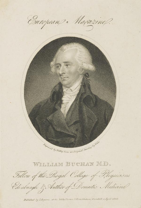 William Buchan, 1729 - 1805. Physician (Published 1805)