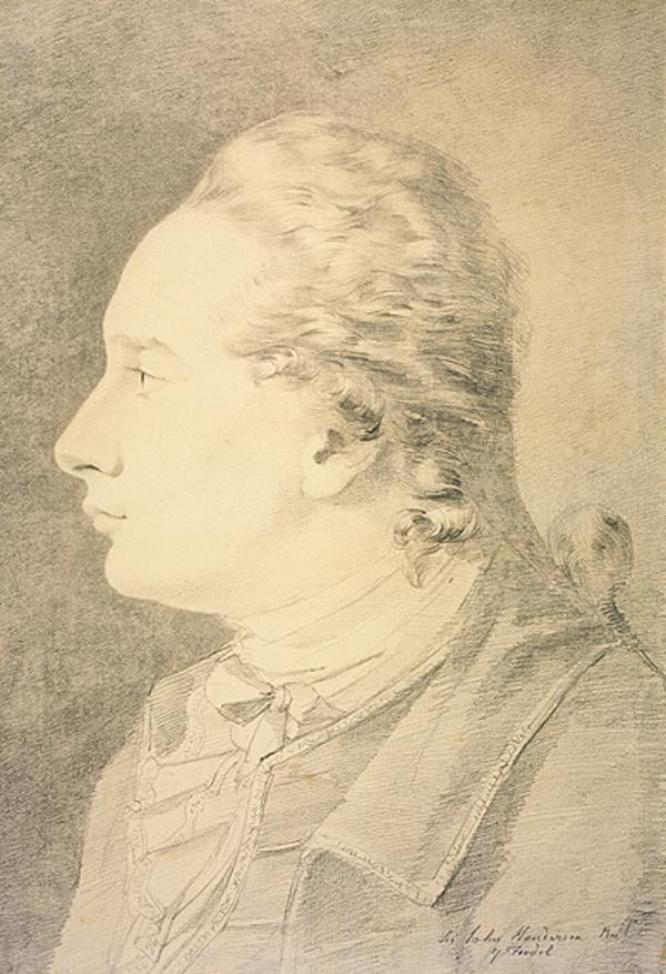 Sir John Henderson of Fordell, 1752 - 1817. Advocate and antiquary