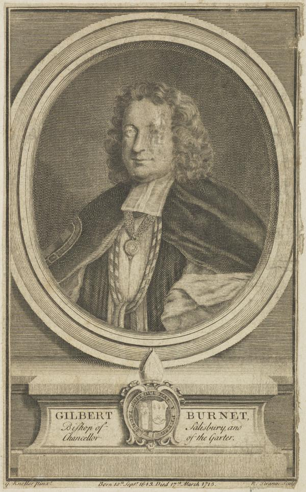 Gilbert Burnet, 1643 - 1715. Bishop of Salisbury