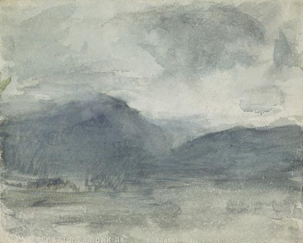 The Misty Hills of Arran