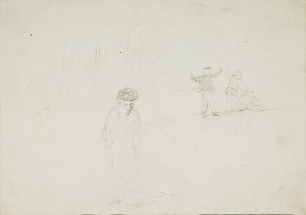 Study of Children in a Landscape