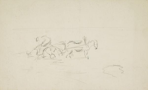 Seawed Gatherer with Horse and Cart