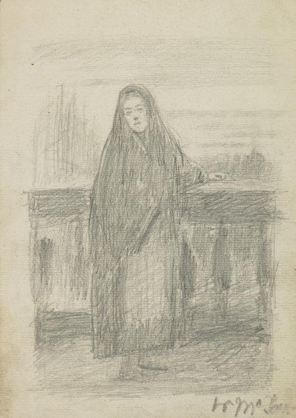 Girl in a Shawl (About 1863)