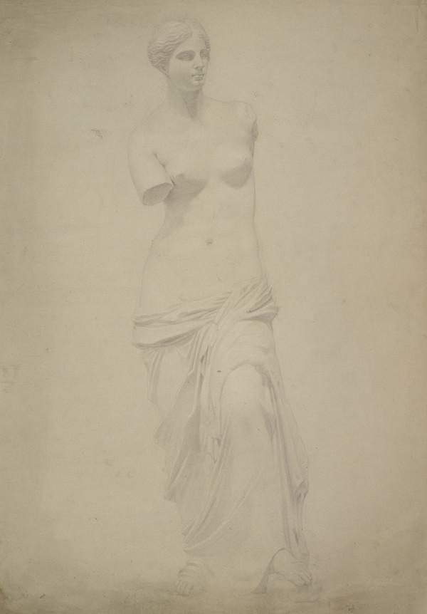 Trustees' Academy Drawing. Study of the Cast of the Venus of Milo