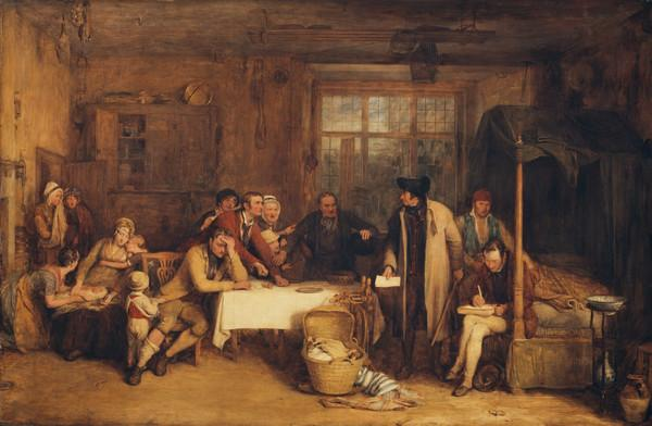 Distraining for Rent (1815)