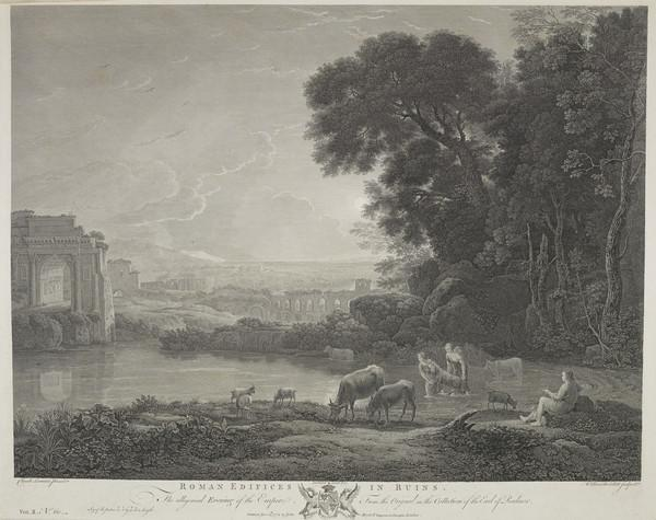 Roman Ruins (vol II, no.60) (1772)