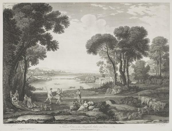 Pastoral Scene with Figures (1774)