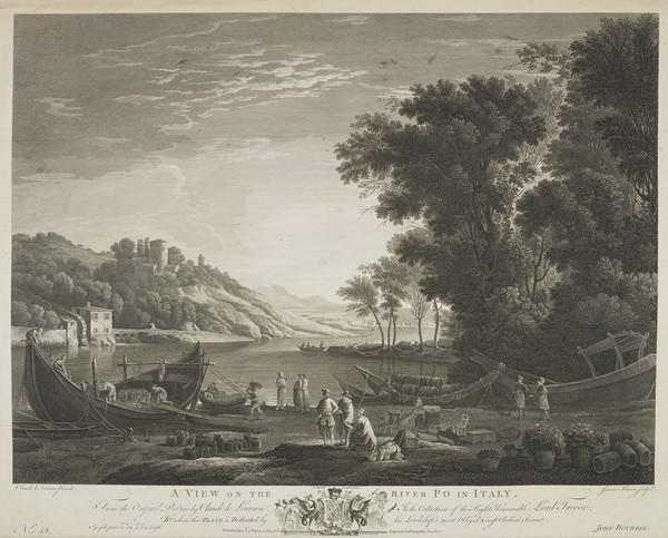 View of the River Po (1769)