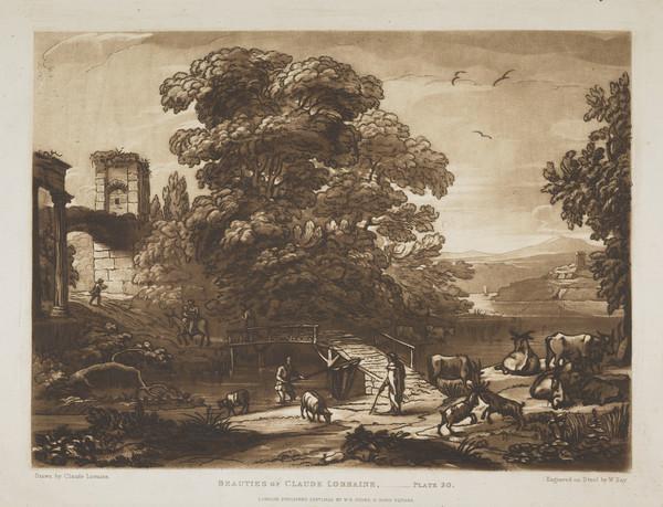 'Beauties of Claude Lorraine' (No.20) (1825)