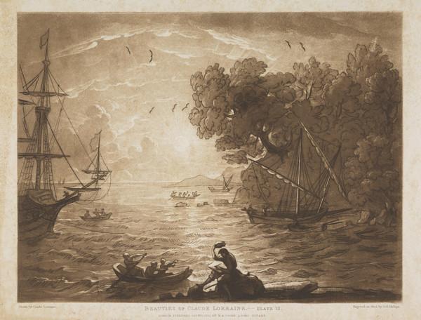 'Beauties of Claude Lorraine' (No.12) (1825)