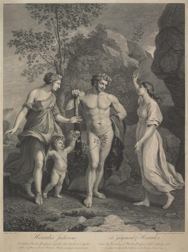 The Judgement of Hercules (1759)