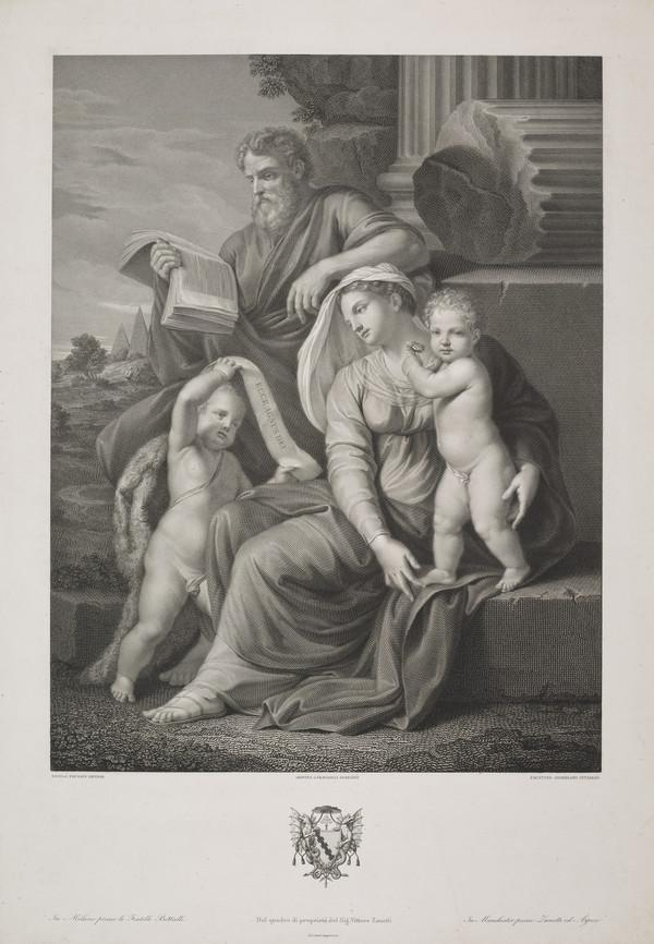 The Holy Family with St John the Baptist