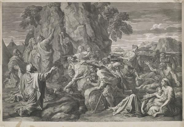 Moses striking the Rock (1687)