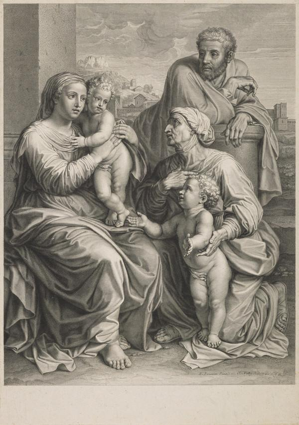 Holy Family with St Elizabeth and the infant Baptist (1655-1660)
